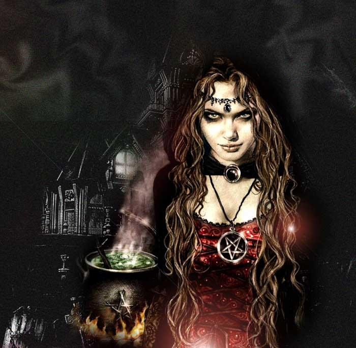 bruja amuleto